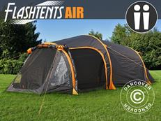 Flashtents® Camping tent Air, 2 persons, Orange/Dark Grey