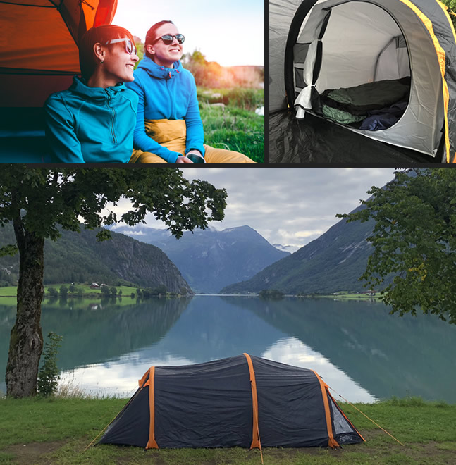 FlashTents Inflatable Camping Tents